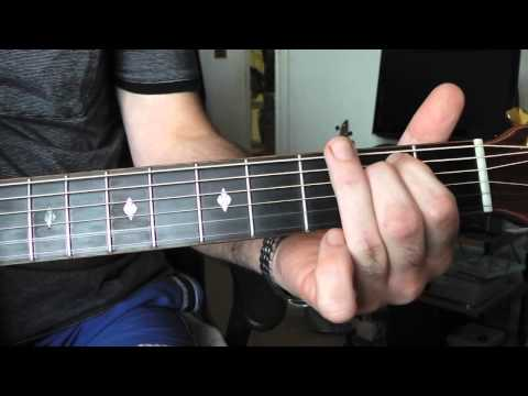Play 'Black and White' by Todd Rundgren. Part 2. The chords explained.