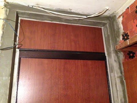 металлически шумоизолированные двери