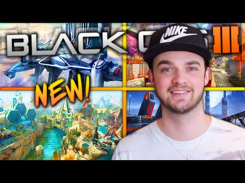 "NEW STUNNING MAPS! - (Black Ops 3 ""ECLIPSE"" DLC 2 Multiplayer)"