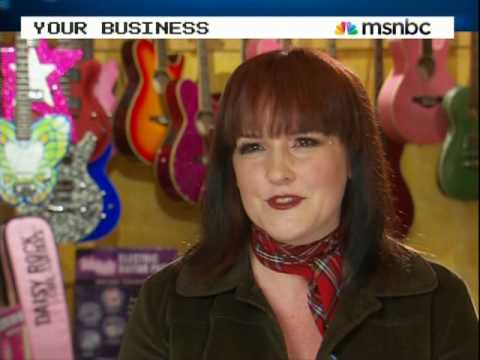 Daisy Rock on MSNBC s American Business: Six String Success