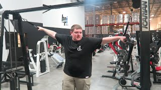 NUDAH WORKS OUT FOR THE FIRST TIME