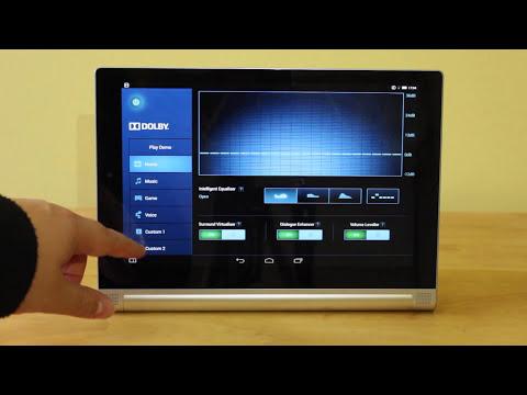 Lenovo Yoga Tablet 2 video walkthrough