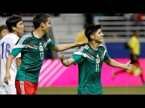 Mexico vs Corea del Sur 4-0 29/01/2014 HD ~ Oribe Peralta goal vs Corea del Sur