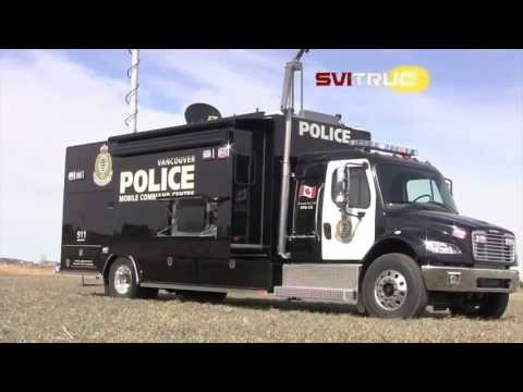 SVI Trucks: Vancouver PD Command Vehicle