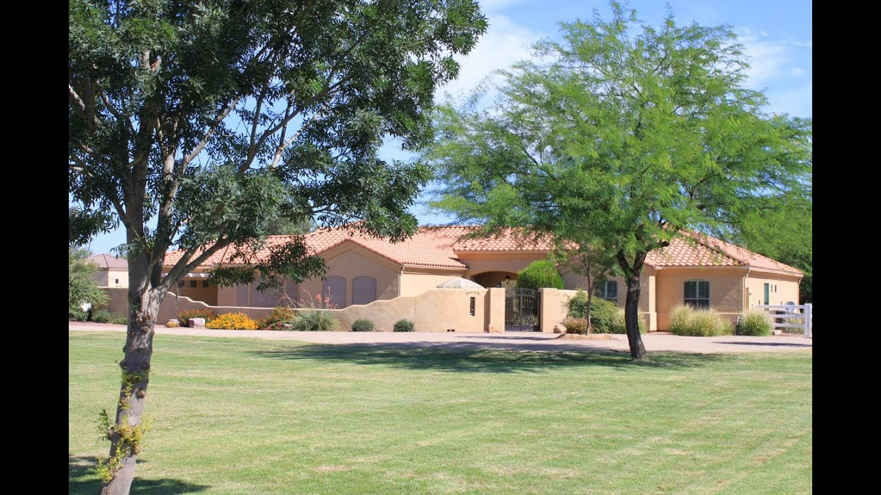Basement home with guest house in chandler az sold by for Homes with basements in arizona