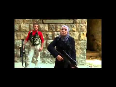 English Interview with 'Guevara,' FSA's Palestinian-Syrian Woman Sniper
