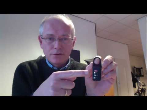 How to open / reset a TUMI TSA Lock when you lost the number combination