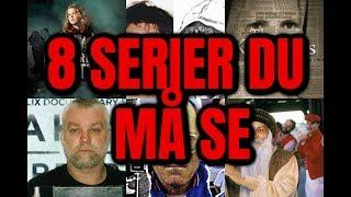 8 TRUE CRIME- serier du MÅ se!