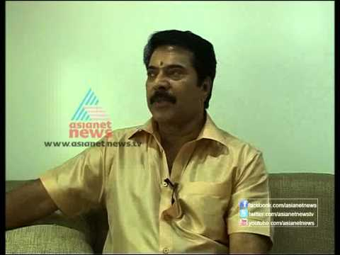 "Mammootty speaks about his movie ""Face to Face"""