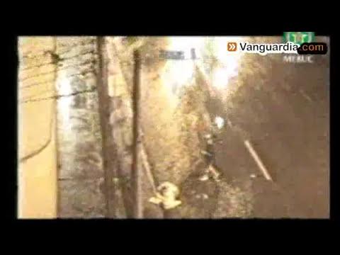 Ladrones son captados en cámara de seguridad de la Policía