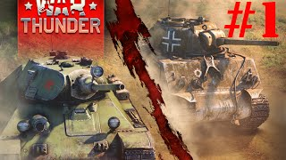 War Thunder: Ground Forces Gameplay! #1