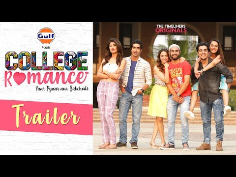 College Romance | Web Series | Trailer | The Timeliners