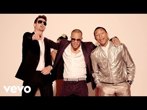 Robin Thicke - Blurred Lines (unrated Version) Ft. T.i., Pharrell video