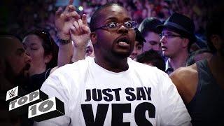 Best Fan Reactions - WWE Top 10