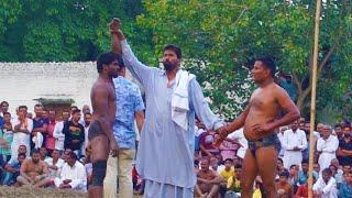 Ganni Pehlwan Vs Devdhar Pehlwan Kushti Dangal Haryana Khadari 2018