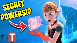 The Secret History Of Disney's Anna From Frozen