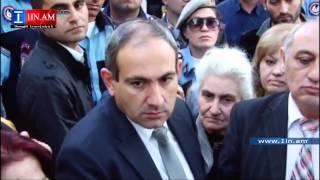 Nikol Pashinyane handipec boghoqox arevtrakanneri het