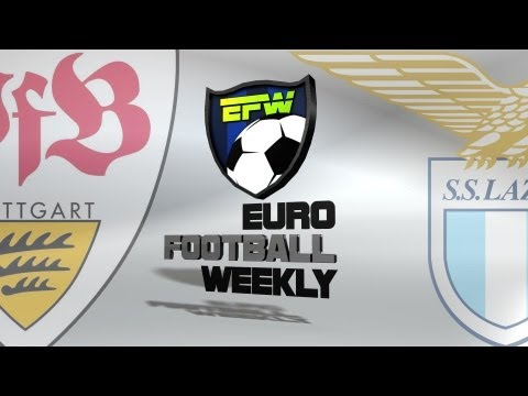 Stuttgart vs Lazio - UEFA Europa League 2013