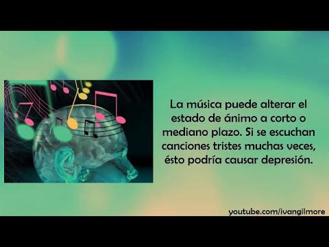 EFECTOS DE LA MUSICA EN EL CEREBRO  - datos interesantes, ciencia, mente humana, psicologia