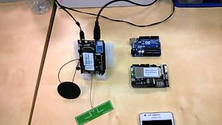 Video call using 3G/GPRS Shield for Arduino