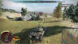 WoT PS4 - T-54 - 9 kills 6,2k dmg - bo sie zagadalem...