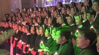Ca Khúc Tri Ân - Hợp Xướng: KHÚC CẢM TẠ - 120 Tu Sinh VN du học USA, Baton Rouge, LA 12/29/2013