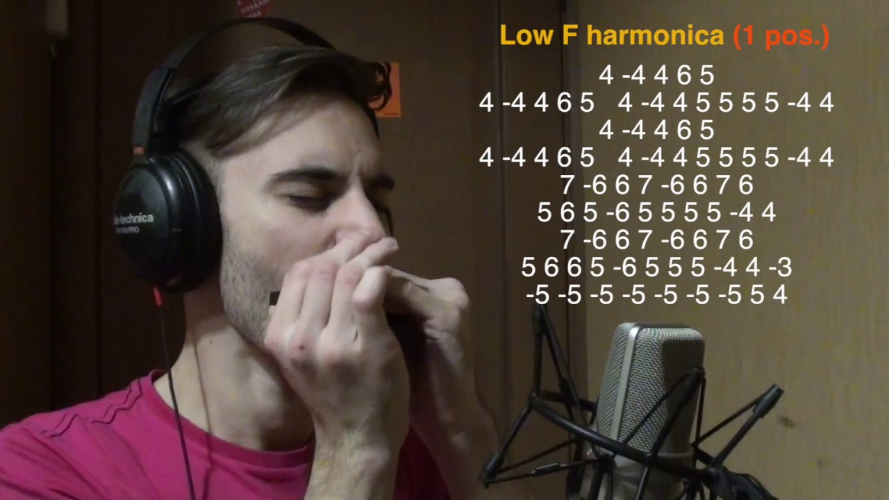 Would lost blues harmonica lick that guy