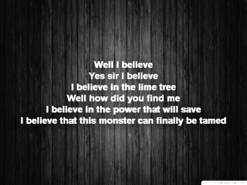 Trevor Hall   Well I Say Lyrics)