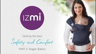 Izmi Baby-Carrier: Safety and Comfort for Toddlers