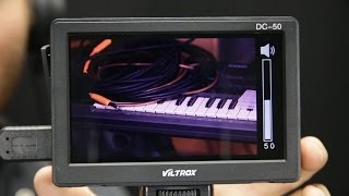 Viltrox DC-50 HDMI monitor review side by side with Sony CLM-V55 - DSLR FILM NOOB