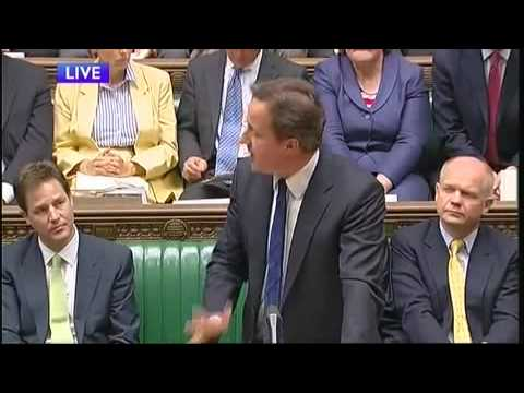 PMQ's - David Cameron vs Harriet Harman 1/2 (09Jun 2010)