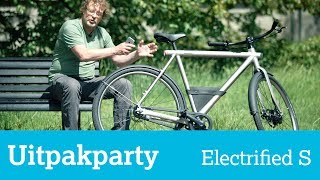 Uitpakparty: nieuwe VanMoof e-bike Electrified S met turbo-booster