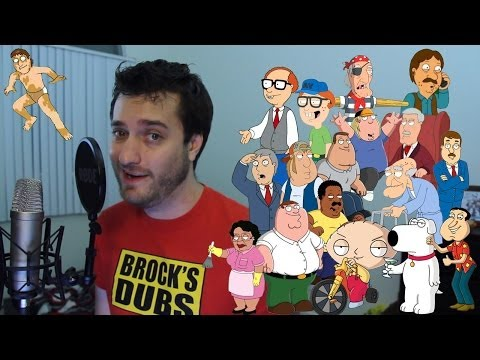 18 Family Guy Impressions