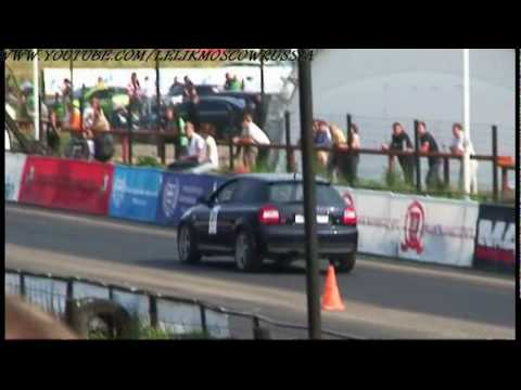 Дрэг Гран При Москвы 2008 клип1 Drag street racing GP Moscow 2008 clip1