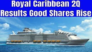 Royal Caribbean Cruise Line 2nd Qtr Earnings Released Shares Rise