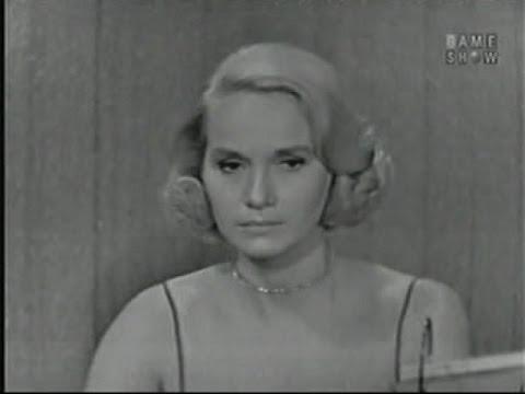 What's My Line? - Eva Marie Saint; Tony Randall [panel] (Sep 7, 1958)