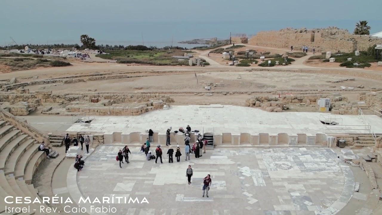 Desvendando os segredos de Israel, com Caio Fábio!  - Cesareia Marítima