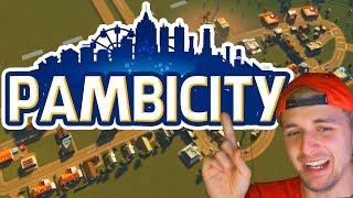 Estoy creando la ciudad Pambisita... ¿QUÉ PODRÍA SALIR MAL? 🤔