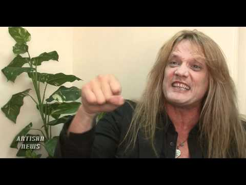SEBASTIAN BACH KICKING & SCREAMING ABOUT NEW ALBUM