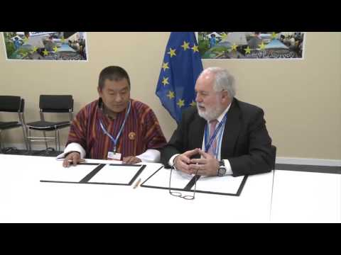 EU and Bhutan sign joint climate declaration