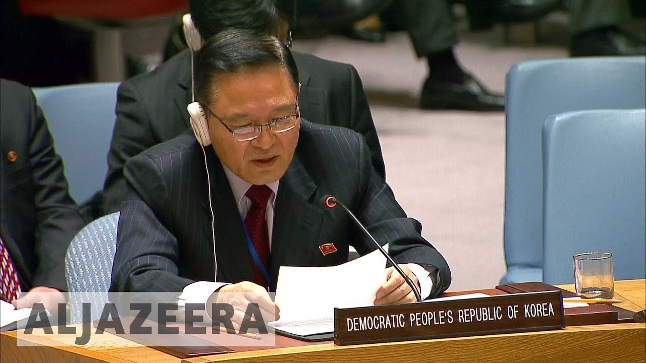 North Korea says missile programme is self-defence