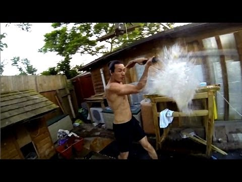 GoPro Matrix Bullet Time Effect with Waterballoons Teaser (240fps) ceiling fan rig