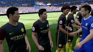 FIFA 17 | Chelsea vs Manchester City - Full Gameplay (PS4/Xbox One)
