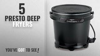 Best Presto Deep Fryers [2018]: Presto 05411 GranPappy Electric Deep Fryer