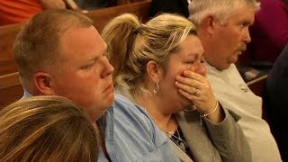 Mother Sobs as 7-Year-Old Daughter