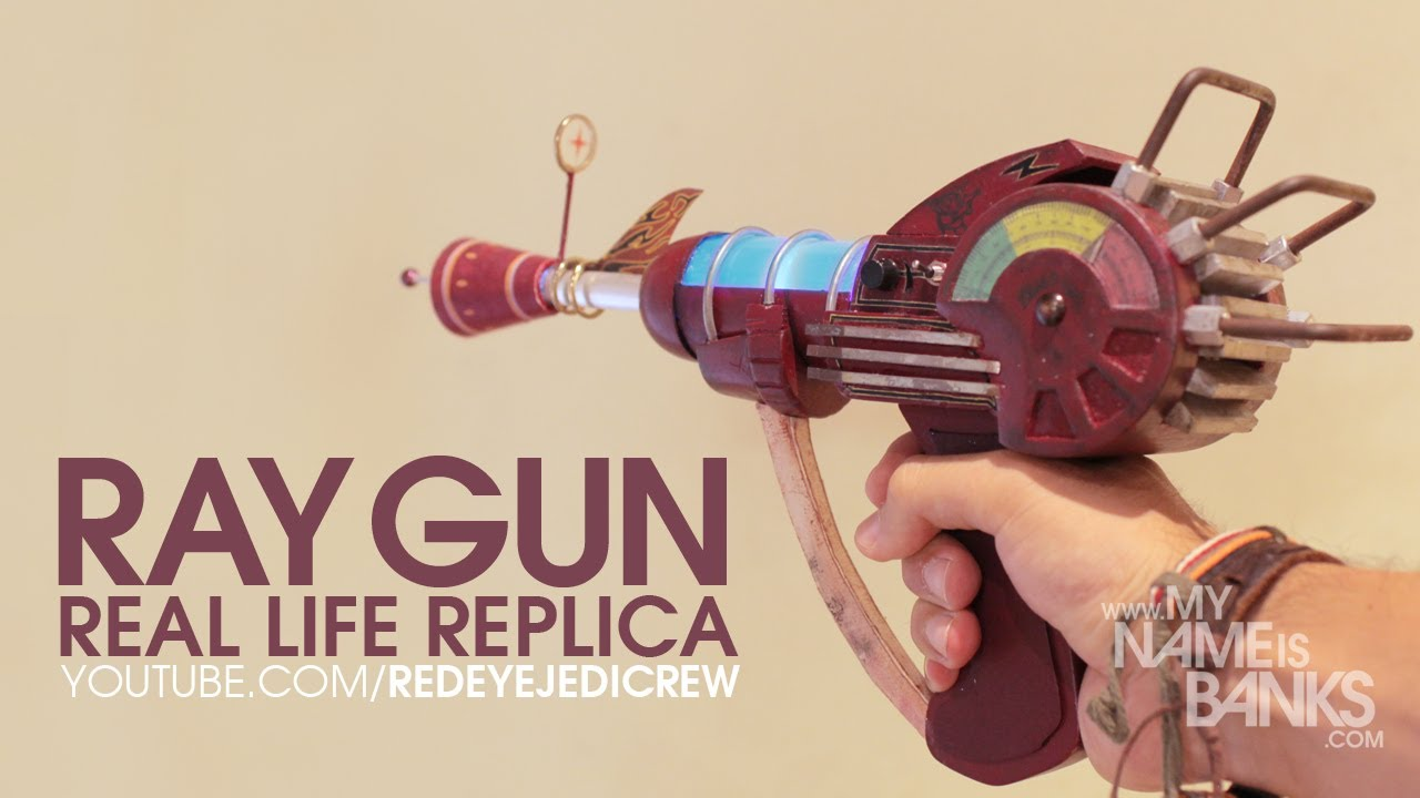 Toy Guns vs Real Guns Call of Duty Real Life Ray Gun