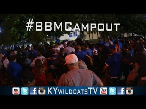 Kentucky Wildcats TV: Big Blue Madness Campout 2013