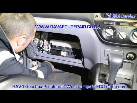 Toyota RAV4 ECU removal and repair 01932 800800