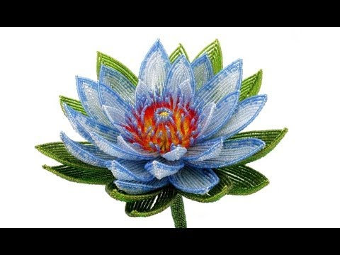 ... of 2: Beaded Flowers / Цветы из бисера (photos) - YouTube