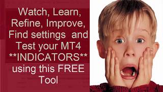 Learn and see Forex MT4 indicator testing in action. Use the FREE MT4 Platform  Strategy Tester